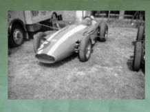 "MASERATI 250F Carroll Shelby car in Silverstone paddock 1958 Brit GP.Amateur 10x7""photo (b)"